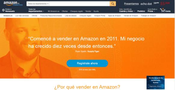 Vender en Amazon Como Particular y Sin Ser Autónomo