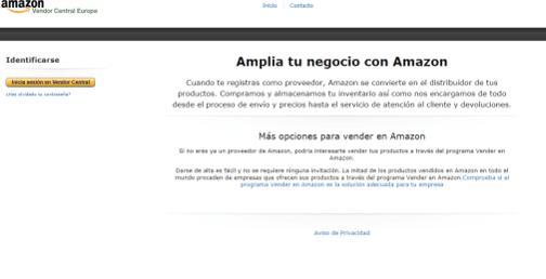 amazon vendor central aprender la venta en amazon
