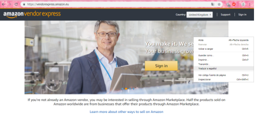 amazon vendor express crear cuenta en amazon vender