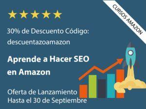 vender en amazon SEO posicionamiento como empresa particular rentable curso