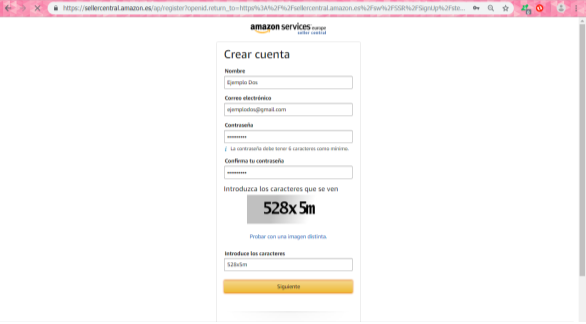 amazon seller central vender en amazon españa es
