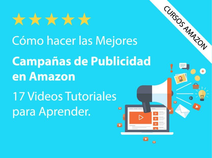 Curso Amazon ADS vender en amazon como empresa particular rentable curso para publicidad ads sponsored products brands ppc
