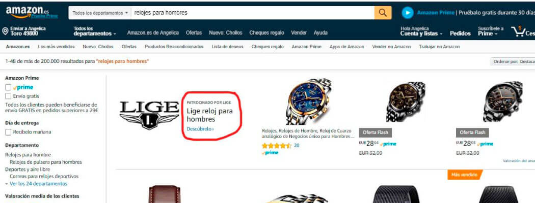 amazon advertising ads ppc publicidad campañas como hacer sponsored products brands stores victorgbarco vender