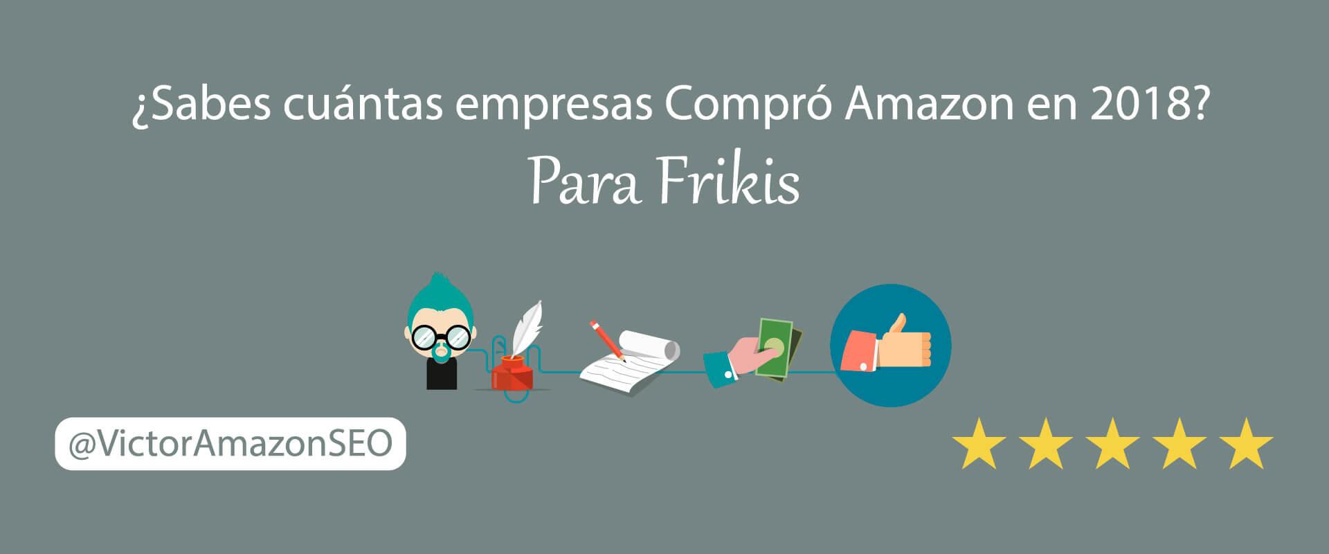 Empresas de Amazon: Descubre cuántas empresas compró en 2018