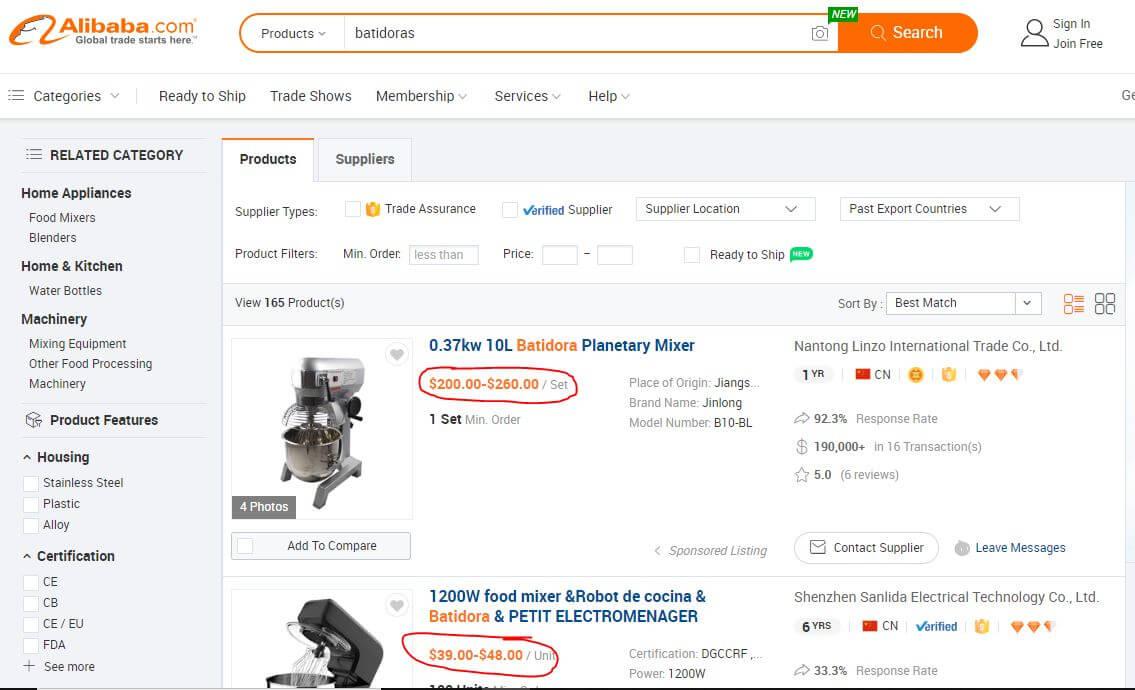 omo comprar en china vender amazon productos por mayor paginas web