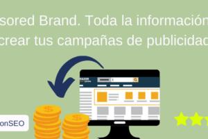 Campañas de publicidad con Sponsored Brand
