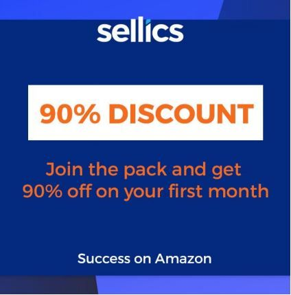 Descuento 90% Sellics edicion vendedor