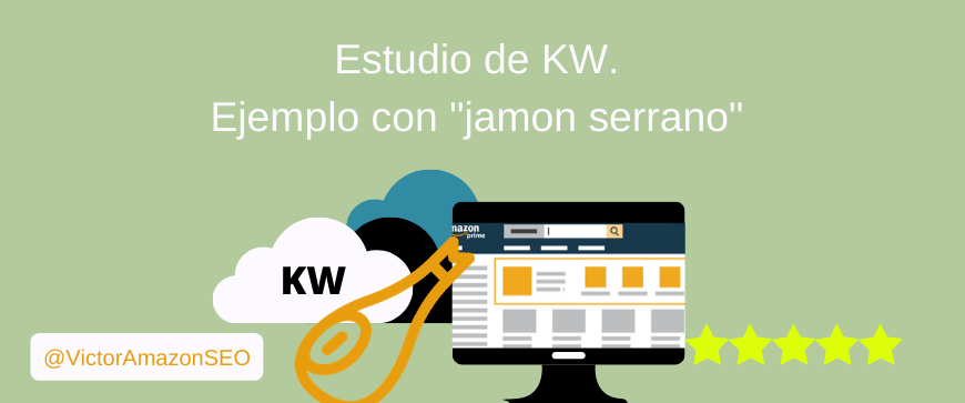 estudio kw amazon, kw research amazon, palabras clave amazon