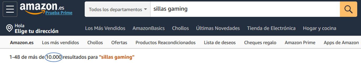 Sillas Gaming