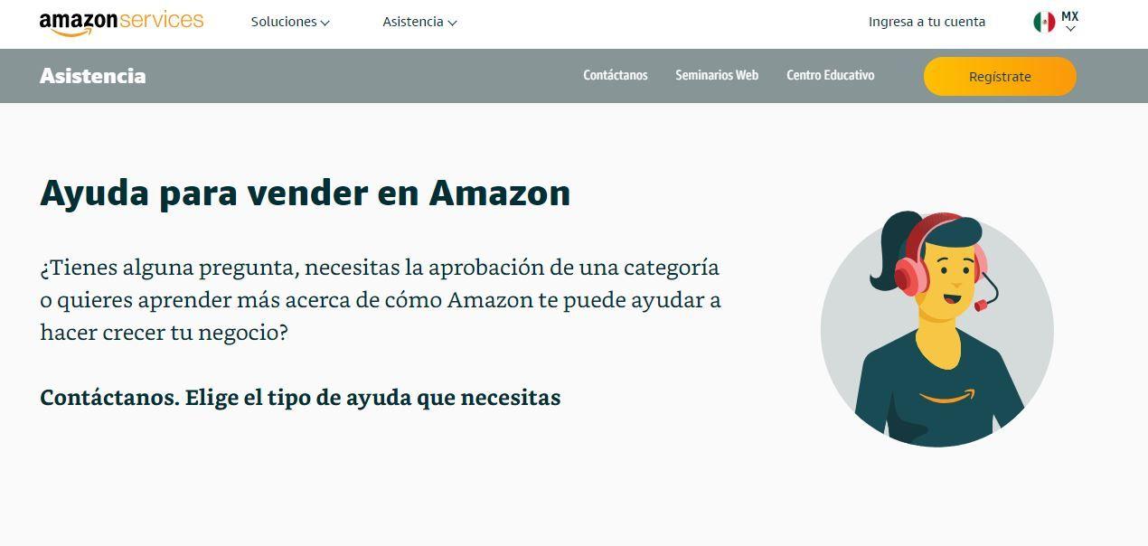 ayuda vendedor amazon mexico