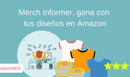 Merch Informer la herramienta definitiva para Merch by Amazon