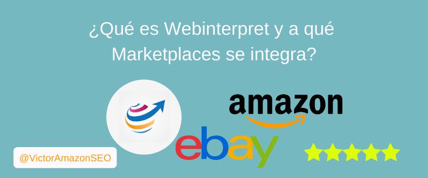webinterpret integrador, webinterpret integrador amazon, webinterpret integrador ebay